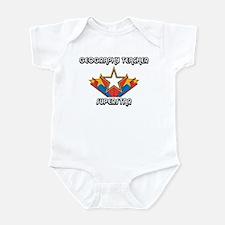 I Love My GEOGRAPHY TEACHER Infant Bodysuit