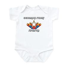 I Love My GEOGRAPHY STUDENT Infant Bodysuit