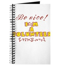 Be nice! I'm a Volunteer! Journal
