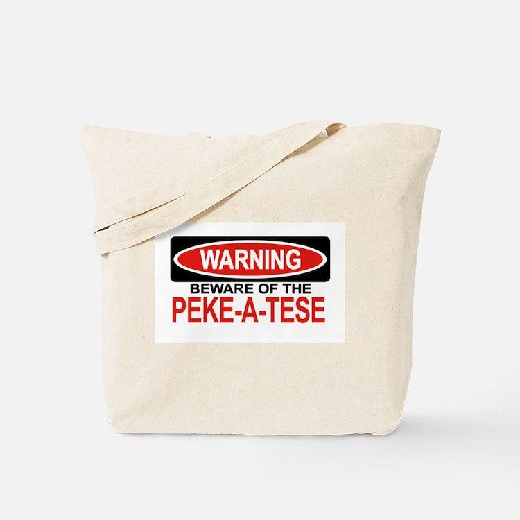 PEKE-A-TESE Tote Bag