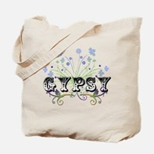 Gypsy Wildflowers Tote Bag
