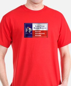 Lone Star Boxer Rescue T-Shirt