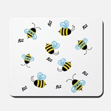 Swarming Honey Bees Mousepad