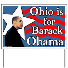 Ohio is for Obama Yard Sign