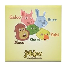 Funny Galoo Tile Coaster