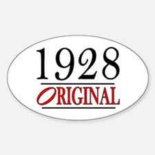 1928 Oval Decal