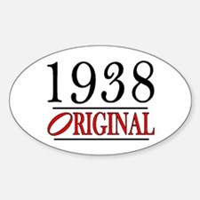 1938 Oval Decal