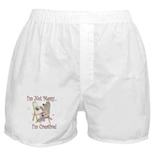 I'm Not Messy... Cat Boxer Shorts