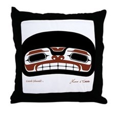 Khaa Goosh Yeigi Throw Pillow