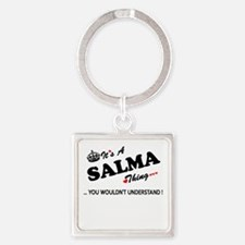 SALMA thing, you wouldn't understand Keychains