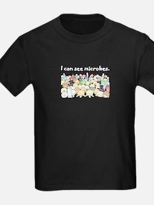 microbes negro T-Shirt