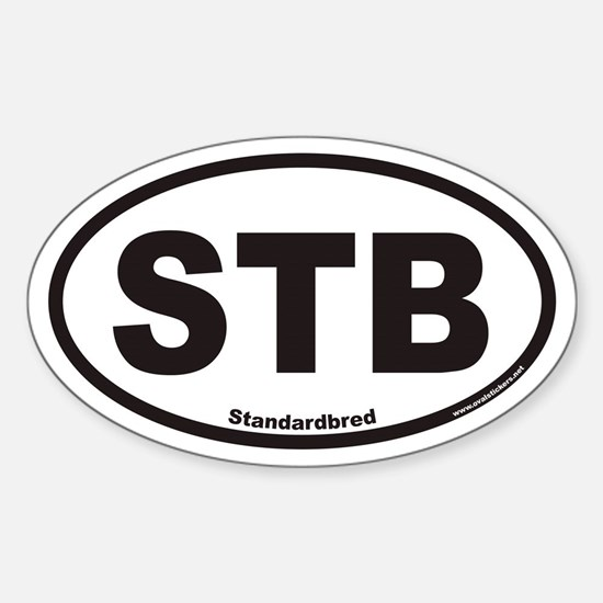 Standardbred STB Euro Oval Decal