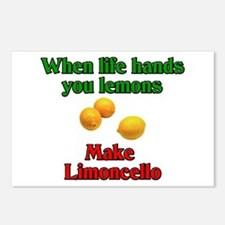 When Live Hands You Lemons Postcards (Package of 8