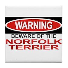NORFOLK TERRIER Tile Coaster