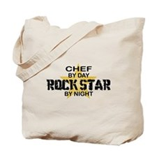 Chef RockStar by Night Tote Bag