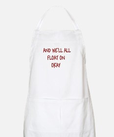 all float on BBQ Apron