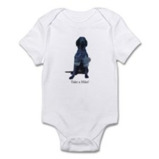 take a hike Infant Bodysuit