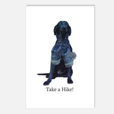 take a hike Postcards (Package of 8)