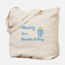 Henry is a Bundle of Boy Tote Bag