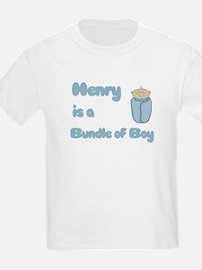 Henry is a Bundle of Boy T-Shirt