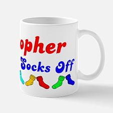 Cristopher Rocks Socks (B) Mug