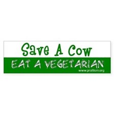 Save a Cow - Eat a Vegetarian