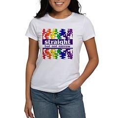 straight but not narrow Women's T-Shirt