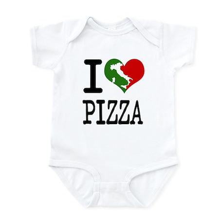 I Love Pizza Infant Bodysuit