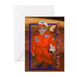 Baby Aviator Mars Mission Cards (Pk of 10)