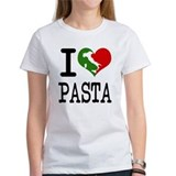 American and italian hearts Women's T-Shirt