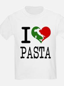 I Love Pasta Italian T-Shirt