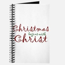 Christmas Begins with Christ Journal