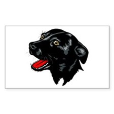 Staffordshire Bull Terrier Rectangle Decal