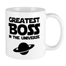 Greatest Boss Small Mugs