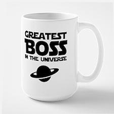 Greatest Boss Large Mug