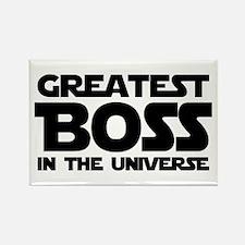 Greatest Boss Rectangle Magnet