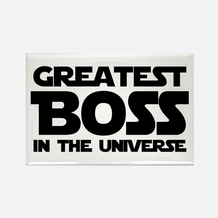 Greatest Boss Rectangle Magnet