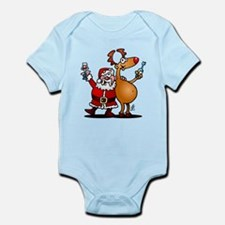 Santa Claus and his Reindeer Body Suit