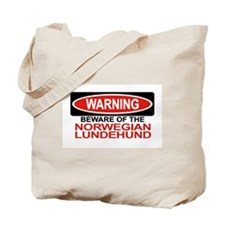 NORWEGIAN LUNDEHUND Tote Bag