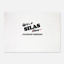 SILAS thing, you wouldn't understan 5'x7'Area Rug