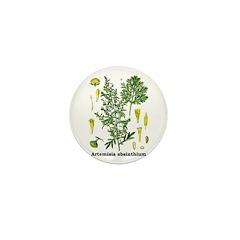 Absinthe Wormwood Mini Button (10 pack)