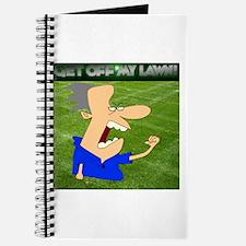 Get Off My Lawn Journal