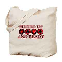 Suited Up Tote Bag
