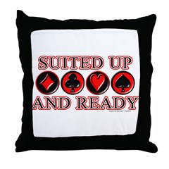 Suited Up Throw Pillow