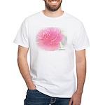 Olde Pink Rose White T-Shirt