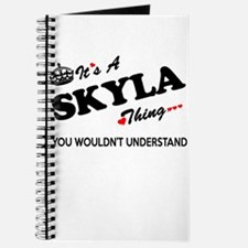 SKYLA thing, you wouldn't understand Journal