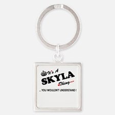 SKYLA thing, you wouldn't understand Keychains