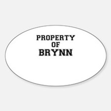 Property of BRYNN Decal