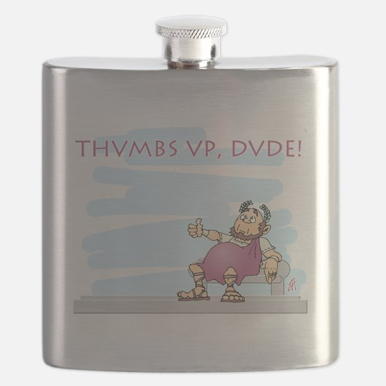 Thumbs up for Brutus Flask