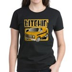70s Retro Chevy Van Women's Dark T-Shirt